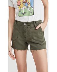 PAIGE Mayslie Utility Shorts - Green