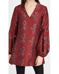 Macgraw Delphine Dress - Red
