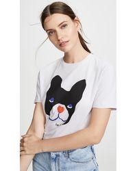 Être Cécile Big Dog T-shirt - Multicolor