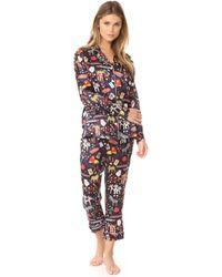 Karen Mabon - One Night In Vegas Long Pj Set - Lyst