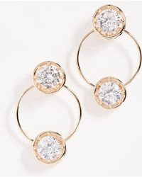 Eddie Borgo - Circle Estate Hoop Earrings - Lyst