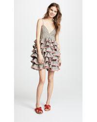 JOUR/NÉ - Linen Ruffles Dress - Lyst