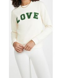 Tory Sport French Terry Love Crew - White