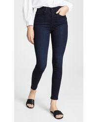 Ayr The High Rise Skinny Jeans - Blue