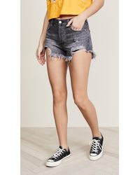 Free People - Loving Good Vibrations Shorts - Lyst