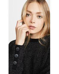 Rag & Bone Jubilee Crew Sweater - Black