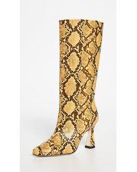 Chelsea Paris Queen Boots - Yellow