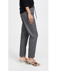 3.1 Phillip Lim Track Pants With Side Stripe - Gray