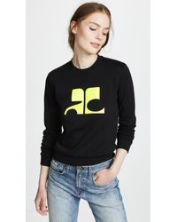 Courreges - Logo Sweater - Lyst