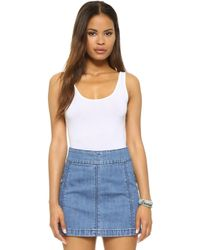 Splendid - Layers Tank Bodysuit - Lyst