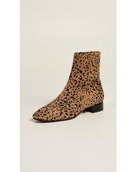 Rag & Bone - Aslen Animal-print Suede Ankle Boots - Lyst