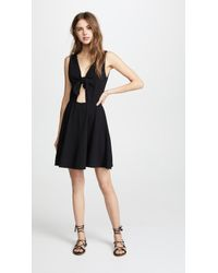 Three Dots - Reversible Tie Dress - Lyst