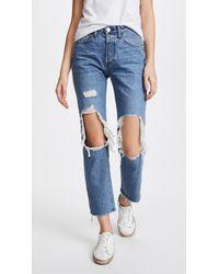 3x1 - W3 Higher Ground Bf Crop Jeans - Lyst