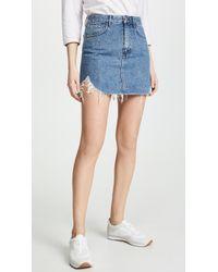3x1 Celine Skirt - Blue