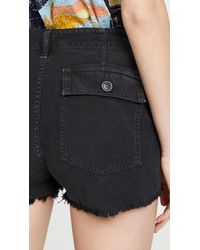 Citizens of Humanity Meghan Shorts - Black