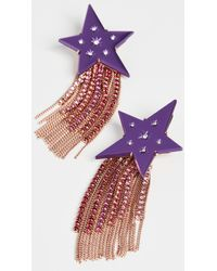 Kate Spade Fringe Earrings - Multicolour