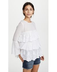 OndadeMar - Whites Blouse - Lyst