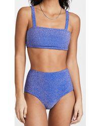 Mikoh Swimwear Kano Top - Blue