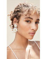 For Love & Lemons Marguerite Crystal Earrings - Multicolor