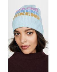 Kate Spade Weekend Beanie Hat - Blue