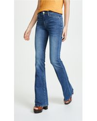 FRAME Le High Flare Jeans - Blue