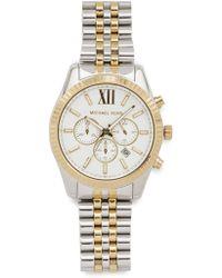 Michael Kors - Lexington Chronograph Watch - Lyst