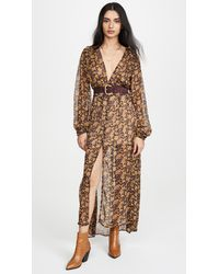 Free People Valerie Duster - Multicolour