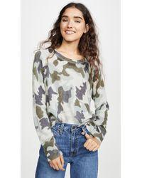 White + Warren Essential Sweatshirt - Multicolour