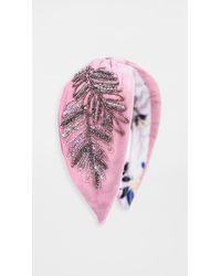 NAMJOSH Pink Embellished Headband
