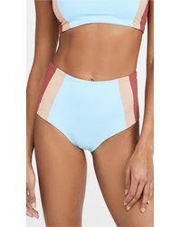 L*Space L*space Portia Girl Bikini Bottoms - Blue