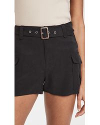 PAIGE Carolina Shorts - Black