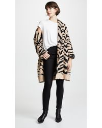 Cupcakes And Cashmere - Ginette Tiger Cardigan - Lyst