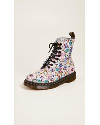 Dr. Martens - Pascal Wl 8 Eye Boots - Lyst