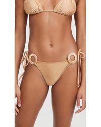 Shani Shemer Honey Bali Bikini Briefs - Brown