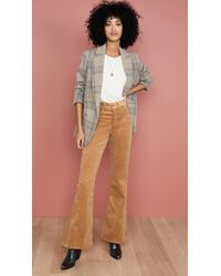 RE/DONE 70s Ultra High Rise Bell Bottoms - Multicolour