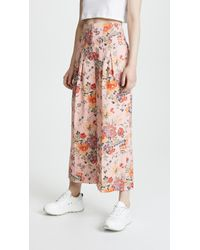 Rebecca Taylor - Marlena Floral Trousers - Lyst