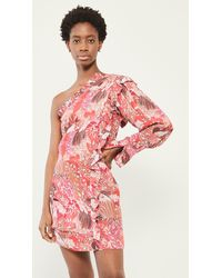 Chufy Khin One Shoulder Dress - Multicolour