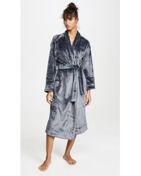 Skin Whitney Plush Robe - Gray