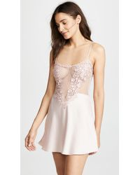 Flora Nikrooz - Chemise With Lace - Lyst