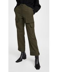 Helmut Lang Patch Pocket Trousers - Green