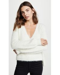 Cupcakes And Cashmere - Gigi Wrap Jumper - Lyst