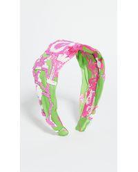 Hemant & Nandita Pink Headband