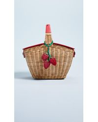 Kate Spade - Picnic Perfect 3d Wicker Basket - Lyst