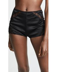 Kiki de Montparnasse - Icon Lace High Waist Shorts - Lyst