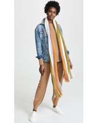 Madewell - Oversize Striped Scarf - Lyst