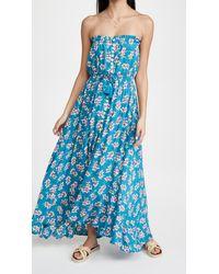 Tiare Hawaii Ryden Maxi Dress - Blue