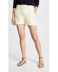 Sea - O'keefe Quilted Shorts - Lyst