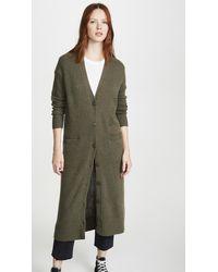 360 Sweater Gabriela Cashmere Cardigan - Green
