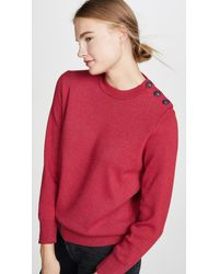 Petit Bateau Colby Sweater - Red