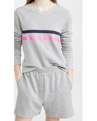 Sundry - Colorful Stripe Sweatshirt - Lyst